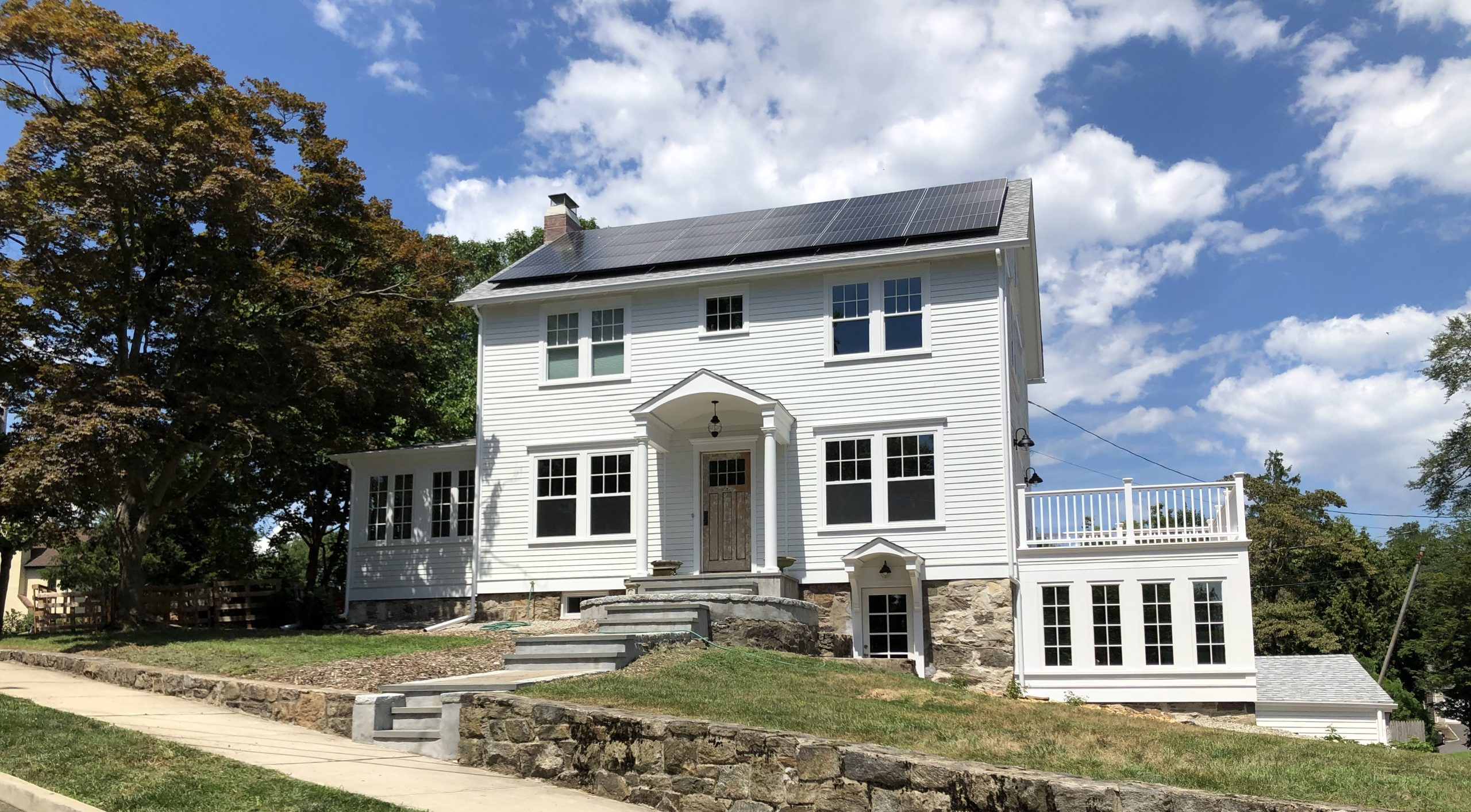 All-Electric Home in Connecticut Shows Resiliency During Tropical Storm