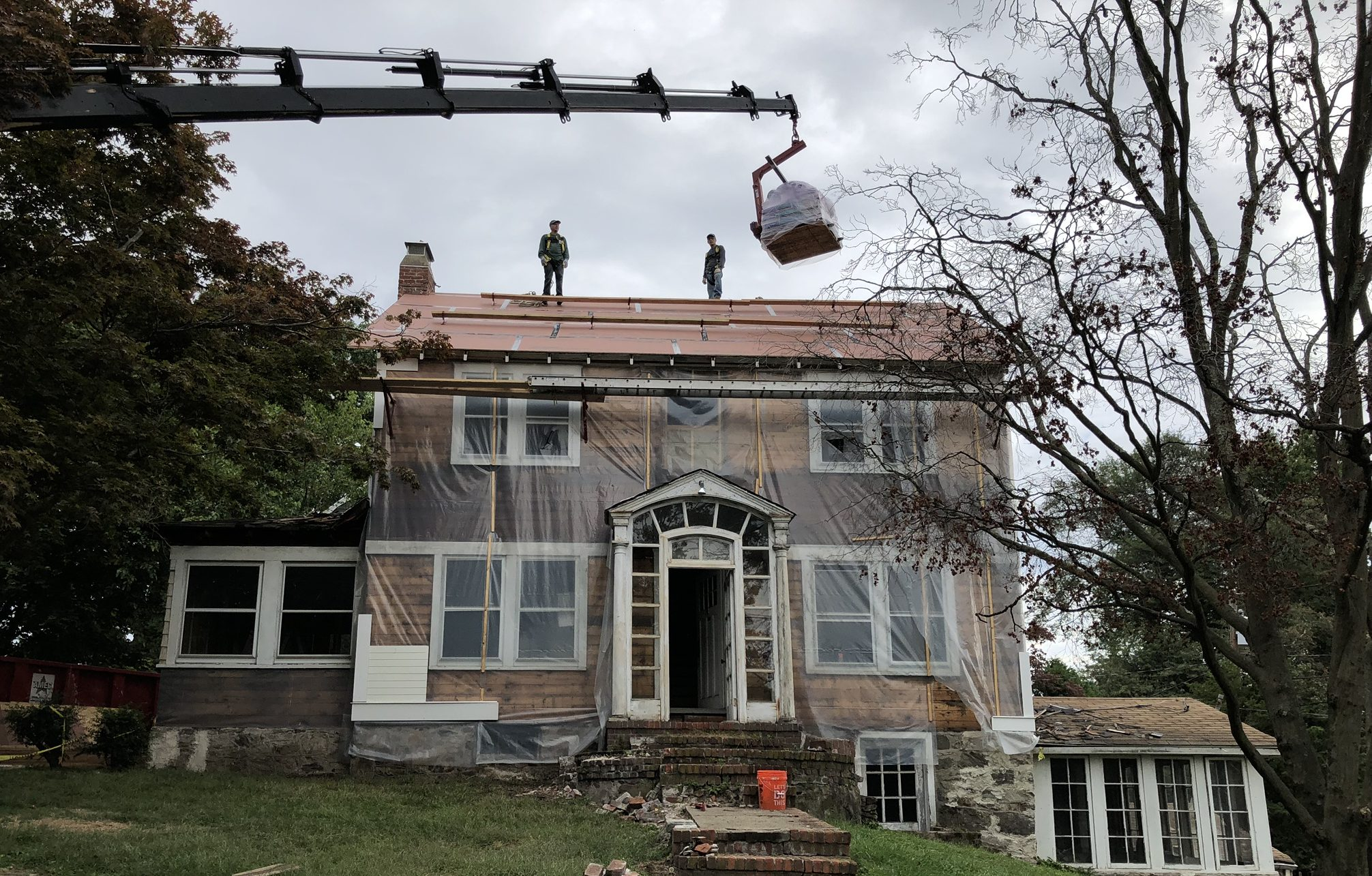 Full Gut Rehabilitation for a 1924 Colonial Home