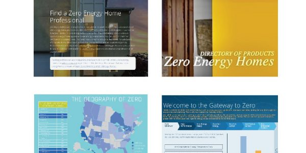 Team Zero's online tools include Zero Energy Pro and Product Directories, Zero Energy Home Inventory and Gateway to Zero