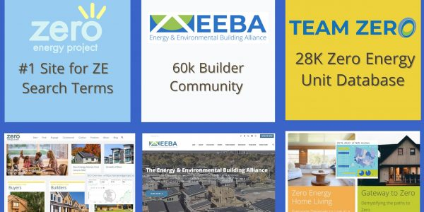 Team Zero, EEBA and Zeroenergyproject.org join forces to increase demand for zero